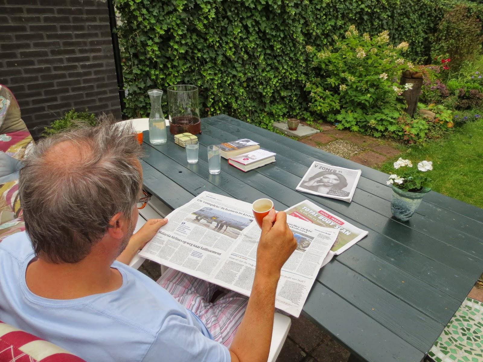 Lezen kranten boek tijdschriften