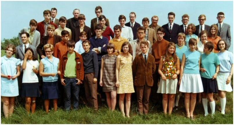 Eindexamenklas Mulo 1968
