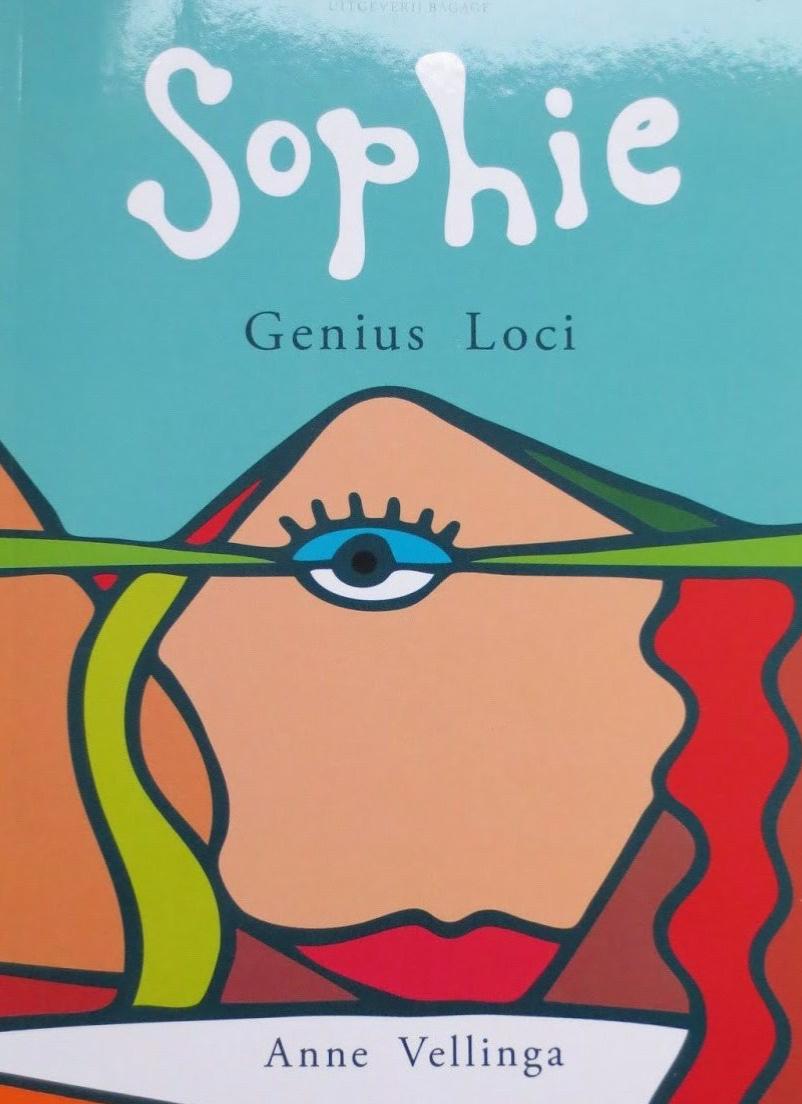 Boek om te lezen. 'Sophie Genius - Loci' AnneVellinga.