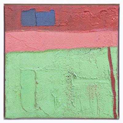Kunst in huis Galerie Expositie-Schilderijen abstract van textuur en verf