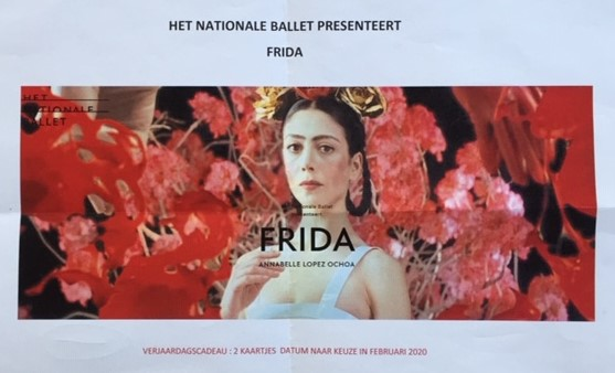 Het Nationale Ballet en Frida Kahlo