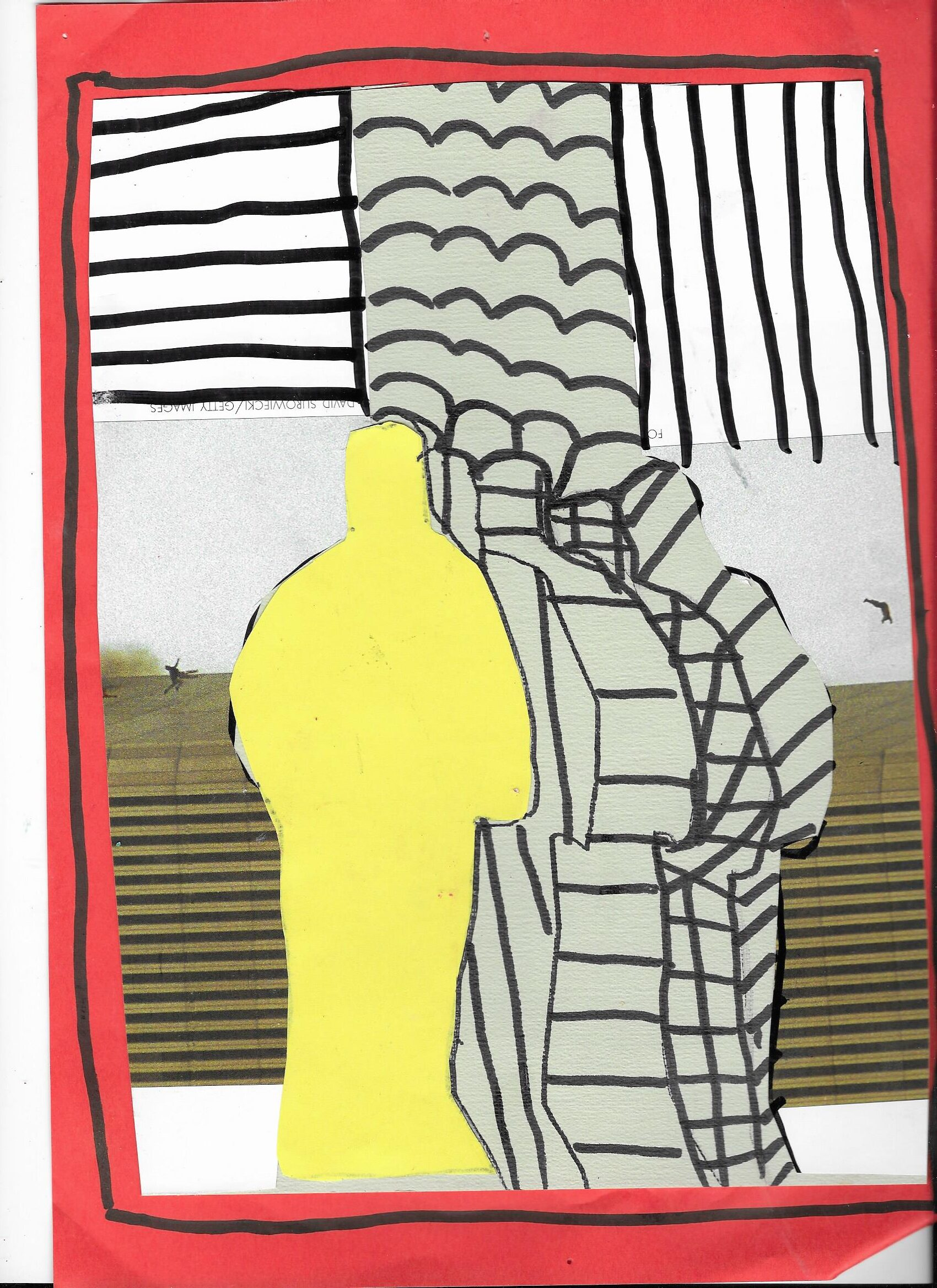 Collages van Willem Adelaar Kunst